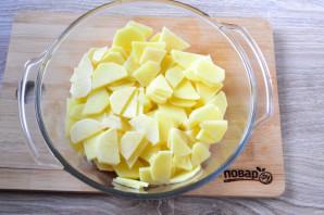 Куриные шейки с картошкой - фото шаг 6