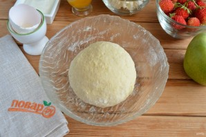 Яблочная пицца с карамелью - фото шаг 4