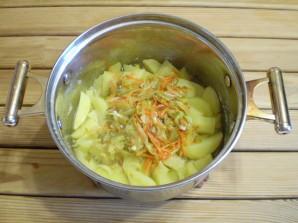 Картошка с солеными огурцами - фото шаг 7