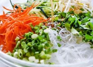 Вьетнамский салат с лапшой - фото шаг 3