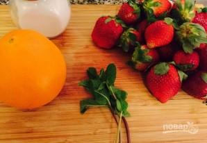 Клубничный суп с апельсином - фото шаг 1