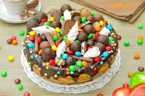 Шоколадный тортик - фото шаг 17