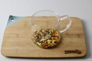 Мандариновый чай - фото шаг 4