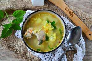 Куриный суп с вермишелью и яйцом - фото шаг 11