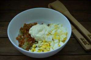 Салат с курагой  и курицей - фото шаг 4