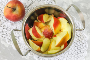 Компот из яблок на зиму без стерилизации - фото шаг 3