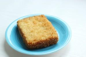 Жареный сэндвич с моцареллой - фото шаг 7
