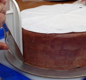 "Торт ""Корзина с цветами"" - фото шаг 1"