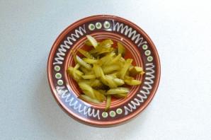 Салат с сердцем и сыром - фото шаг 3