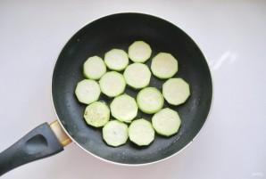 Салат с кабачками и баклажанами - фото шаг 3