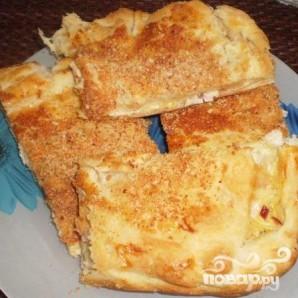 Пирог с курицей и сыром - фото шаг 6