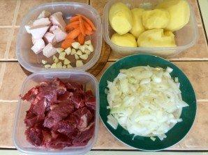 Казан кебаб с картошкой - фото шаг 1