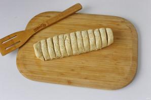 Творожное печенье на сковороде - фото шаг 7