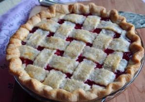 Быстрый пирог с вишней - фото шаг 12