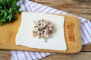 Пирожки с мясом и диким рисом - фото шаг 5