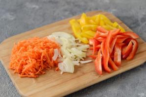 Цветная капуста с рисом на зиму - фото шаг 5