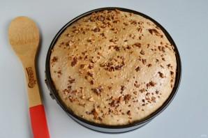 Лимонное пирожное с грецкими орехами, изюмом и безе - фото шаг 11