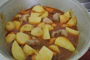 Жаркое из говядины с картошкой - фото шаг 7