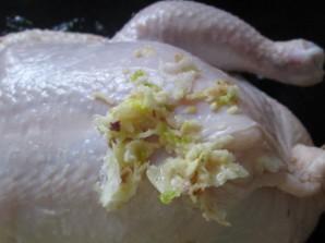 Курица, запеченная с рисом - фото шаг 5