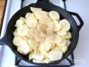 Фриттата с ветчиной и картофелем - фото шаг 1