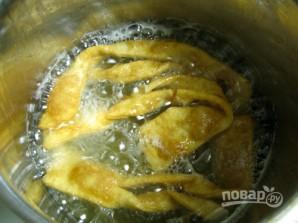 Быстрое тесто для хвороста - фото шаг 6