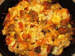 Овощи, запеченные в духовке с сыром - фото шаг 5