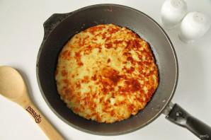 Хачапури для ленивых на сковороде с сыром - фото шаг 7
