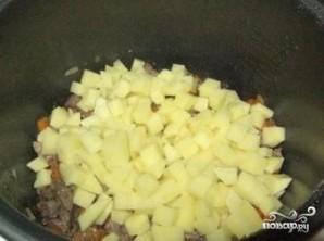 Картофель с печенью в мультиварке - фото шаг 7