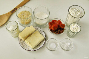 Пирог с рисом, изюмом и курагой - фото шаг 1