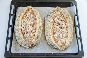 Хачапури с тунцом - фото шаг 12