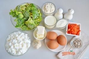 Пирог с творогом и брокколи - фото шаг 1
