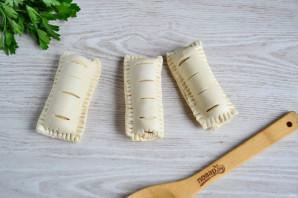 Сосиски с сыром в тесте - фото шаг 5