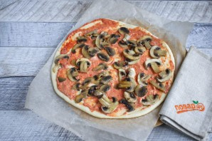 Лучший рецепт домашней пиццы - фото шаг 6