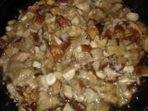 Кальмары, фаршированные рисом и грибами - фото шаг 3