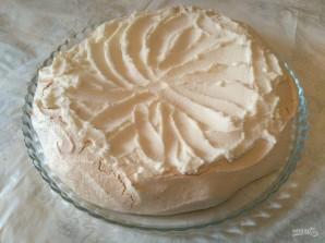 Торт «Павлова» с кремом из рикотты - фото шаг 7