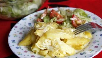 Картофель с сыром в микроволновке - фото шаг 3
