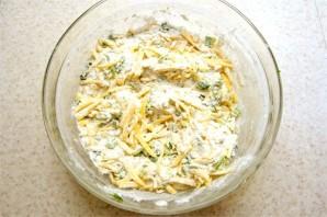 Кекс с сыром и зеленью - фото шаг 1