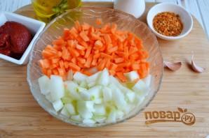Плов на сковороде со свининой - фото шаг 3