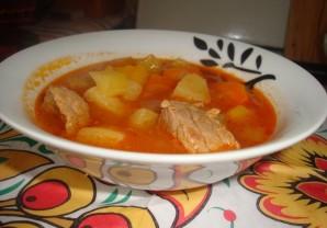 Суп из говядины в мультиварке - фото шаг 12