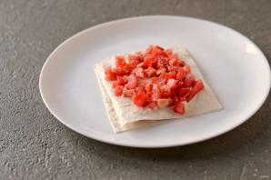 Хрустящая закуска из лаваша - фото шаг 6