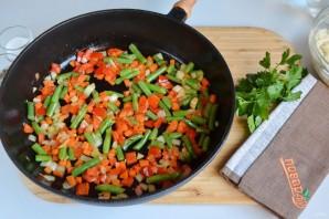 Ароматное овощное ризотто - фото шаг 4