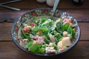 Салат с фетаской и курицей - фото шаг 5