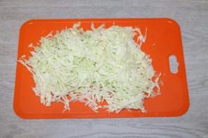 Хрустящий зелёный салат - фото шаг 2