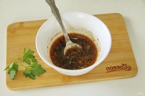 Китайский салат с языком - фото шаг 2