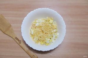 Салат из шампиньонов жареных - фото шаг 7