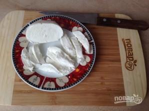 Салат с курицей, брокколи и моцареллой - фото шаг 6