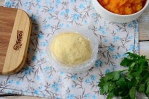 Тыквенный пирог с беконом - фото шаг 4