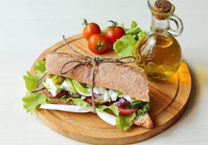 Греческий сэндвич - фото шаг 11