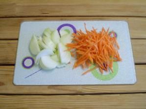 Картошка с солеными огурцами - фото шаг 2