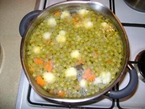 Суп с цветной капустой и горошком - фото шаг 3